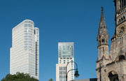 Skyline Berlin City West und die Gedächtniskirche