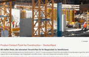 Product Contact Point for Construction – Deutschland