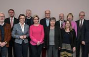 Teilnehmerinnen und Teilnehmer der 135. (Sonder-)Bauministerkonferenz